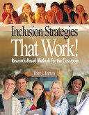 Inclusion Strategies That Work  Book PDF