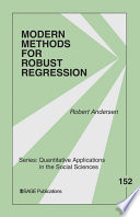 Modern Methods For Robust Regression