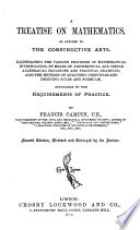 A Treatise On Mathematics As Applied To The Contructive Arts