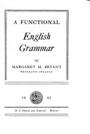 A Functional English Grammar