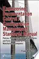 Engineering Documentation Control   Configuration Management Standards Manual