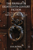 Pdf The Orphan in Eighteenth-Century Fiction Telecharger