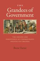 The Grandees of Government Pdf/ePub eBook