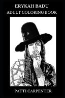 Erykah Badu Adult Coloring Book