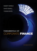 Cover of Fundamentals of Corporate Finance, 2nd Edition