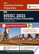 Haryana Police Constable Vol 1 2021 12 Full Length Mock Tests 2 Previous Year Paper