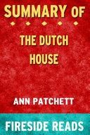 Summary of The Dutch House Book