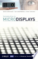 Introduction to Microdisplays
