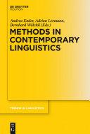 Methods in contemporary linguistics