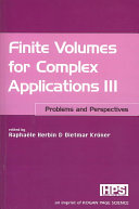 Finite Volumes for Complex Applications III