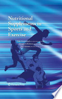 Nutritional Supplements in Sports and Exercise Book