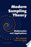 Modern Sampling Theory Book