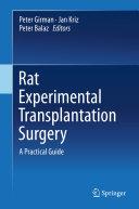Rat Experimental Transplantation Surgery