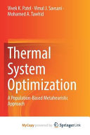 Thermal System Optimization