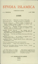 Studia Islamica  79 1994