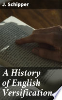 A History Of English Versification