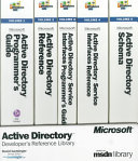 Microsoft Active Directory Developer's Reference Library
