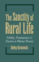 The Sanctity of Rural Life [Pdf/ePub] eBook