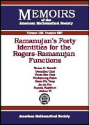 Ramanujan s Forty Identities for the Rogers Ramanujan Functions