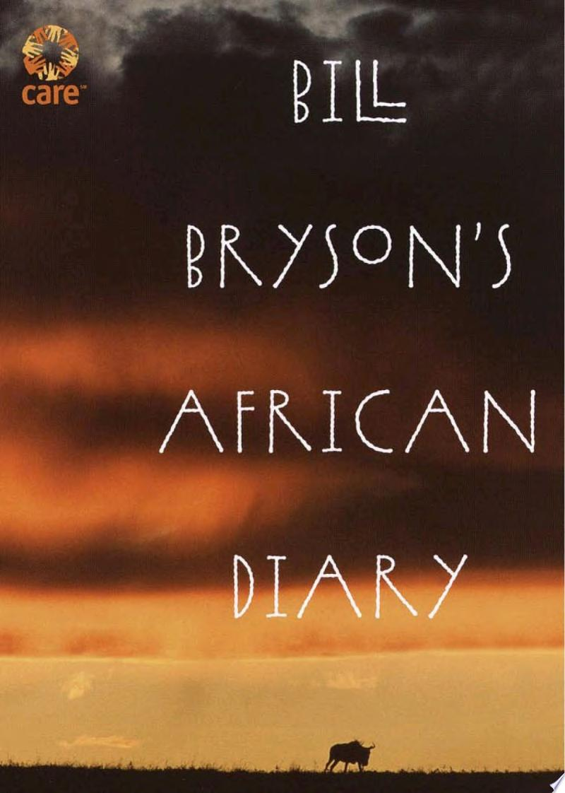 Bill Bryson's African Diary banner backdrop