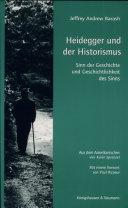 Heidegger und der Historismus