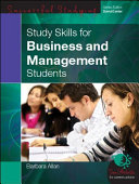 EBOOK  Study Skills For Business And Management Students