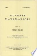 Glasnik Matematicki