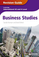 Books - AS And A Level Business Revision Guide | ISBN 9781444192032