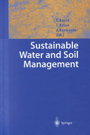 Sustainable Water and Soil Management