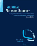 Industrial Network Security Book