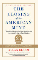 Closing of the American Mind ebook
