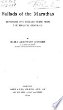 Ballads of Marathas Pdf/ePub eBook