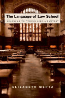 Pdf The Language of Law School Telecharger