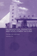 Globalisation, Transition and Development in China [Pdf/ePub] eBook