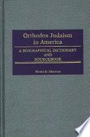 Orthodox Judaism In America