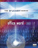 O Leary Series  Microsoft Office Word 2003 Introductory
