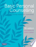Basic Personal Counselling
