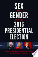 Sex and Gender in the 2016 Presidential Election