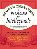 Pdf Roget's Thesaurus of Words for Intellectuals