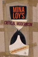 Mina Loy S Critical Modernism