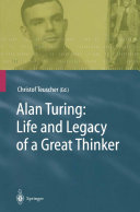 Pdf Alan Turing: Life and Legacy of a Great Thinker
