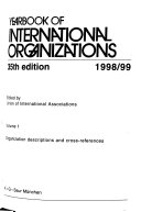 Yearbook of International Organizations Book