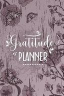 Gratitude Planner Book