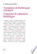 Traduction   Litt  rature Multilingue
