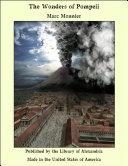 The Wonders of Pompeii Book