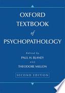 Oxford Textbook Of Psychopathology Book