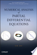Numerical Analysis Of Partial Differential Equations Book PDF