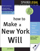 How To Make A New York Will