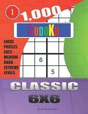 1 000   Sudoku Classic 6x6