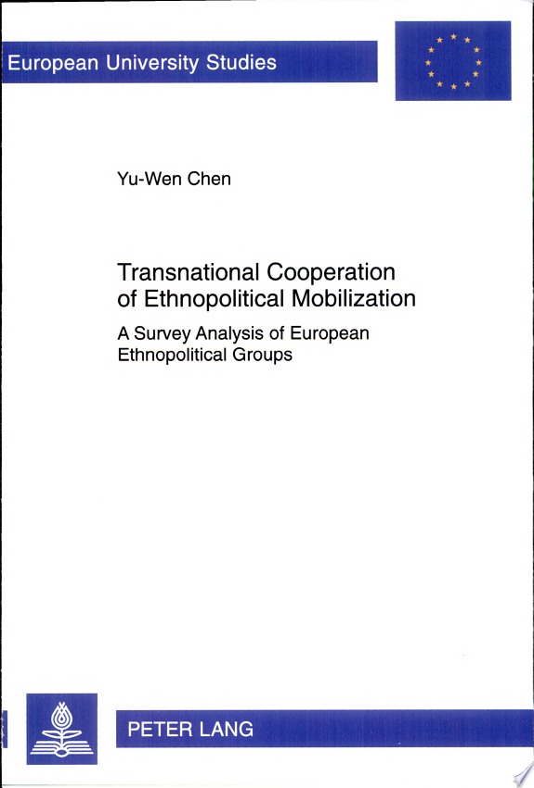 Transnational Cooperation of Ethnopolitical Mobilization